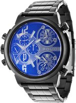 Police PL13595JSB/61MA Men's Python Analog-Quartz Dial Multifunction Watch with 2 Hands