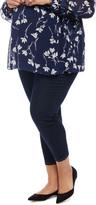 Motherhood Plus Size Maternity Skinny Crop Jeans