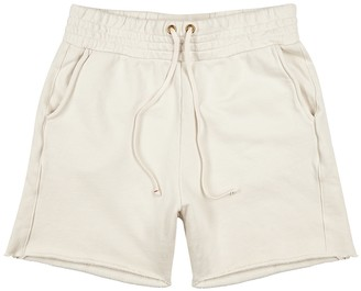 LES TIEN Yacht ecru cotton shorts