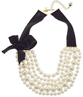 Kate Spade Girls In Pearls Choker Necklace Necklace