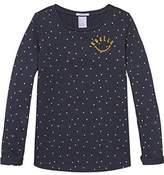 Scotch & Soda R'Belle Girl's Baumwolle Motif T-Shirt