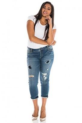 SLINK Jeans Women's Plus Size Joby Skinny 24w