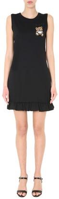 Moschino Teddy Sleeveless Midi Dress