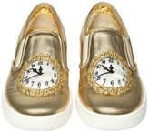 Dolce & Gabbana Clock Nappa Leather Slip-On Sneakers