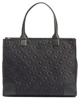 Tory Burch 'Ella' Packable Quilted Nylon Tote - Black