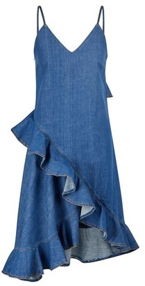 Kenzo Ruffled denim dress