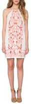 Willow & Clay Women's Embroidered Cotton Minidress