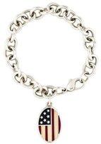Tiffany & Co. Flag Tag Bracelet