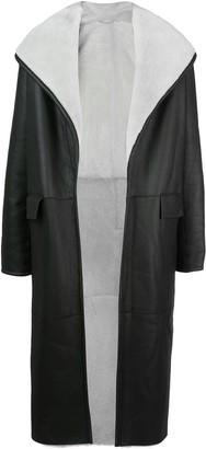 Ludovic De Saint Sernin Fur Lined Coat