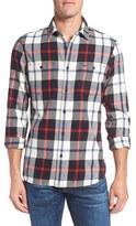 Nordstrom Men's Workwear Trim Fit Flannel Shirt