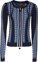 High Implicit Zip Up Jacket