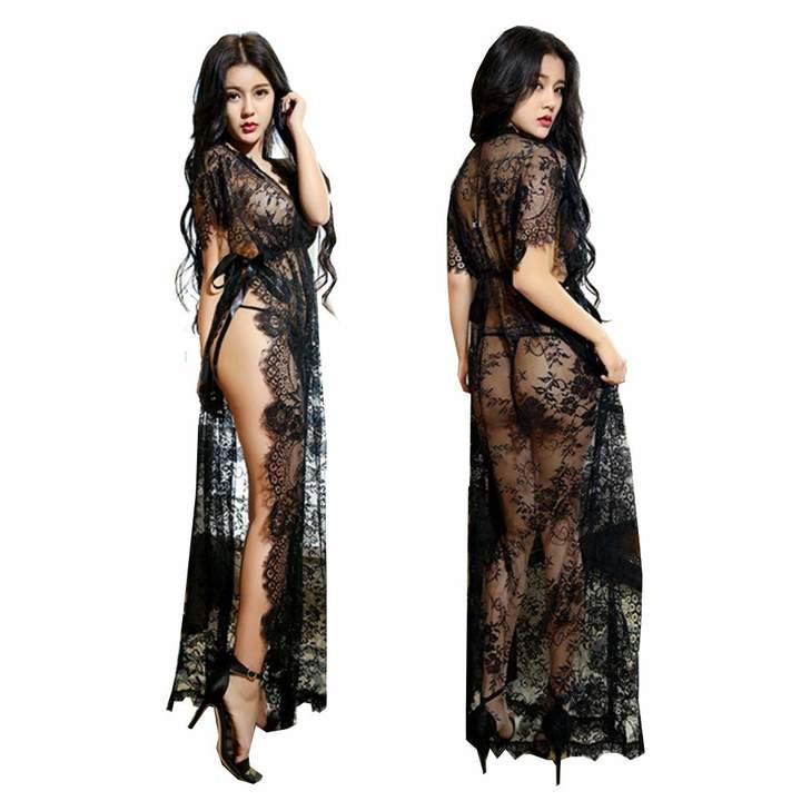 d311fe3b95f3 Black Lace Nightdress - ShopStyle Canada