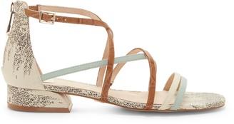 Louise et Cie Eleri Crisscross-Strap Sandal