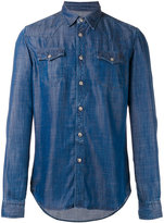 Hydrogen chest pocket denim shirt