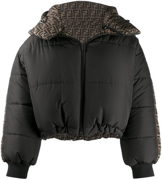 Fendi Reversible Padded Puffer Coat