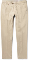 Nn07 - Theo Slim-fit Stretch-cotton Trousers