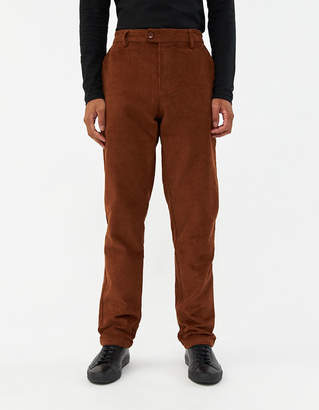 Need Mason Extended Tab Pant in Brown Corduroy