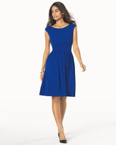 Soma Intimates Fit and Flare Sleeveless Dress Royal