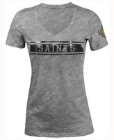5th & Ocean Women's New Orleans Saints Touchback LE T-Shirt