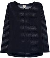 Little Karl Marc John Tessy Lurex Striped T-Shirt