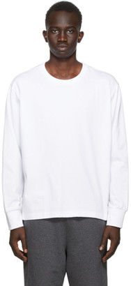 Thom Browne SSENSE Exclusive White Oversized Long Sleeve T-Shirt