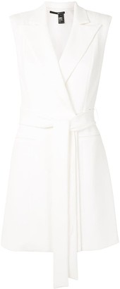 Jay Godfrey Kitty belted mini dress