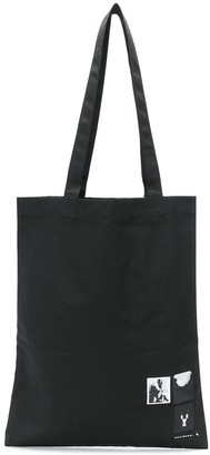 Rick Owens Print Patch Tote