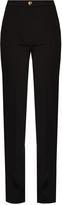 Acne Studios Myla high-waisted cady trousers