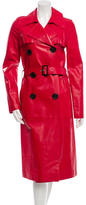 Derek Lam Leather Trench Coat w/ Tags
