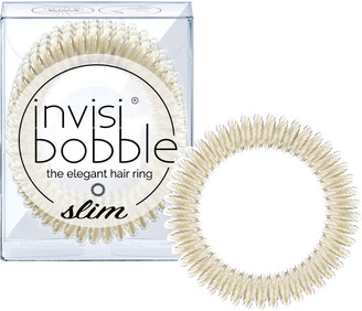 invisibobble The Elegant Hair Ring 3 Pack Slim Stay Gold