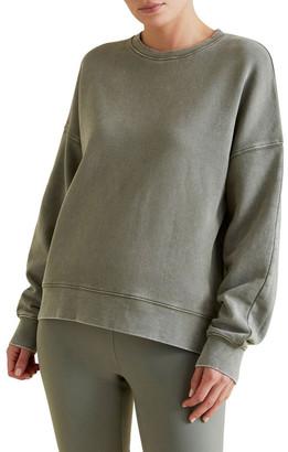 Seed Heritage Vintage Wash Terry Sweater