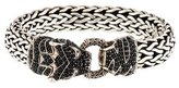 John Hardy Black Sapphire Legends Macan Tiger Head Bracelet