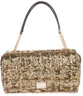 Dolce & Gabbana Quilted Sequin Shoulder Bag