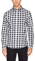 Solid !Solid Men's Shirt - Garret Regular Fit Classic Long Sleeve Casual Shirt - white -