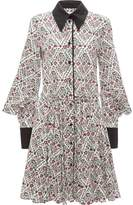 J.W.Anderson floral print square sleeve dress