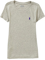 Ralph Lauren Big Girls 7-16 Pima Cotton-Blend Jersey Tee