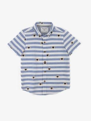 Sovereign Code Boys Leo Button Down Shirt