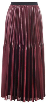 Marella Pleated Midi Skirt Ladies