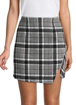 The Fifth Label Tartan Plaid Mini Skirt