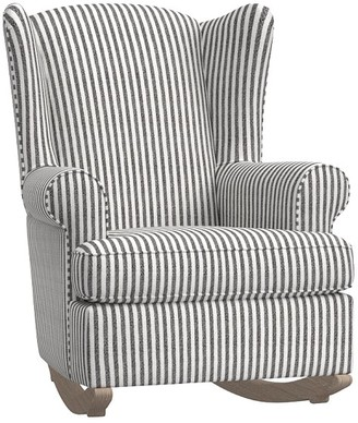 Pottery Barn Kids Wingback Convertible Rocking Chair & Ottoman