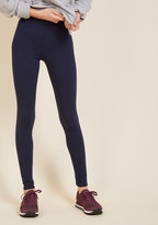 ModCloth Simple and Sleek Leggings in Navy in 1X