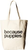 Dogeared Because Puppies Tote