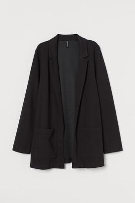 H&M Jersey Jacket - Black