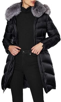 Dawn Levy Cloe Fur Puffer Coat