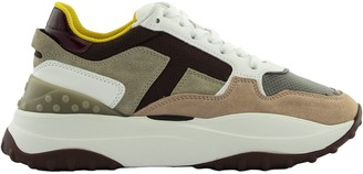 Tod's Sneakers In Suede And Nubuck