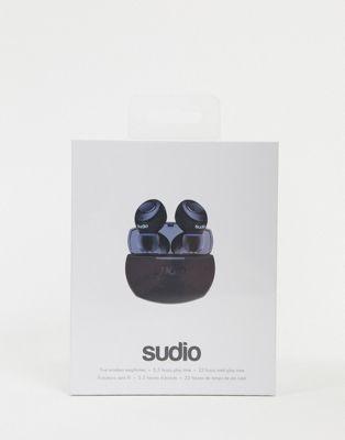 Sudio Tolv R truly wireless earphones in blue