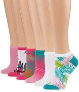 MIXIT Mixit 6pk Low Cut Socks