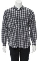 Margaret Howell Plaid Button-Up Shirt