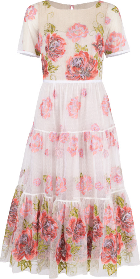 a9bb06ff8d2 Floral Embroidered Gown