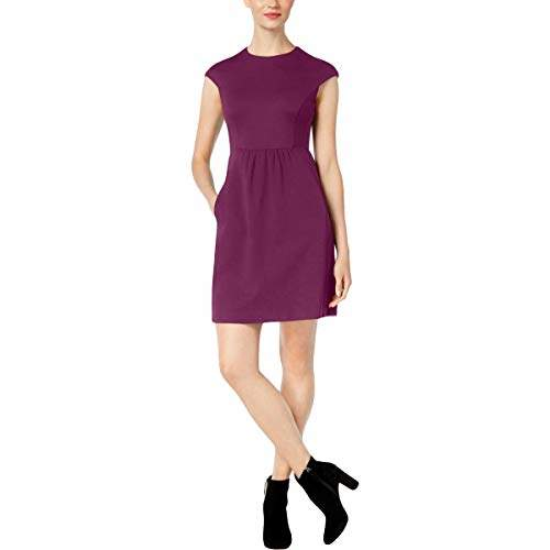 Trina Turk Womens Mini Special Occasion Cocktail Dress Purple 6